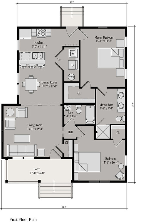 Dodson Willow Bend Floor Plan_ RENDERED.