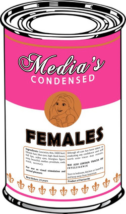 Canned Woman - after Warhol