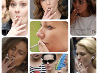 Why men look cool smoking and women don't?