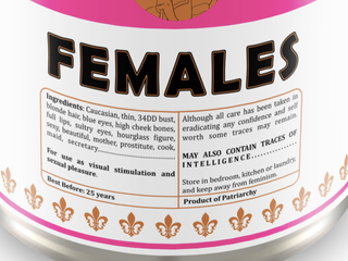 The Canned Woman ingredients