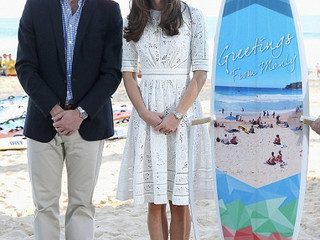 The right royal beach shoes
