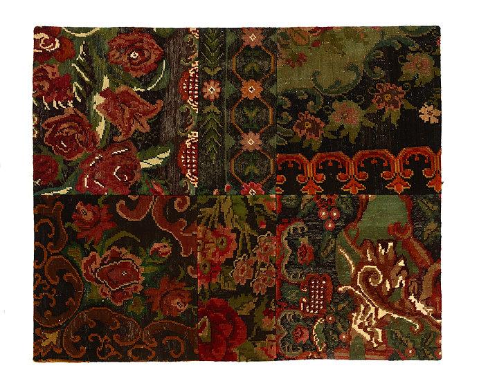 Vintage Patchwork Kelim