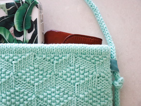 New Day Knit Bag - free pattern