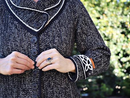 Bessie Alice Tweed Coat Pattern Launch