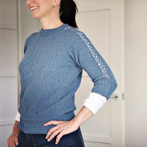 Rabbit Alice Sweater - Crochet Pattern