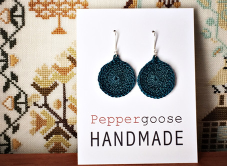 Merry Crochet Earring Christmas!