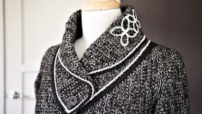 Sashiko Happy Coat MAL: Yarn Experiment Report.