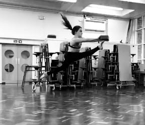 Leaps, kicks and turns