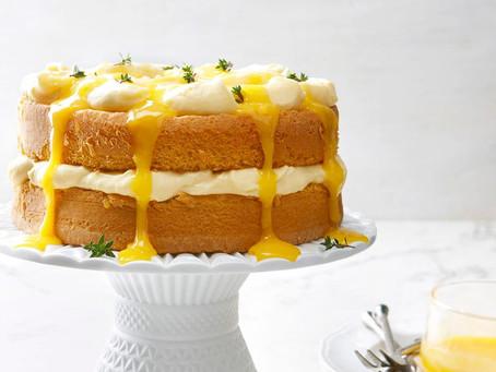 Birthday Sponge Cake