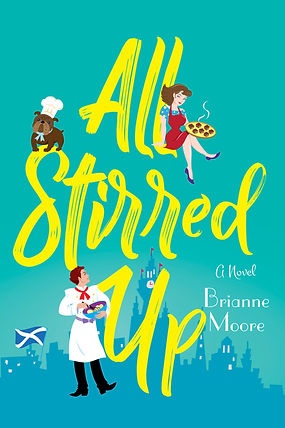 Cover of All Stirred Up, a novel by Brianne Moore