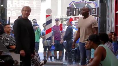 """Skip Bayless """"Barber Shop"""""""