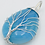 Thumbnail: Natural Gem Stone Tree of Life Wire Wrapped Water Drop Pendant for Necklaces