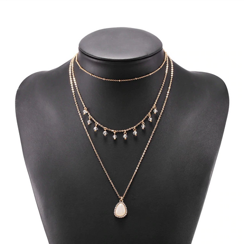 Bohemian Multi  Layers Necklace