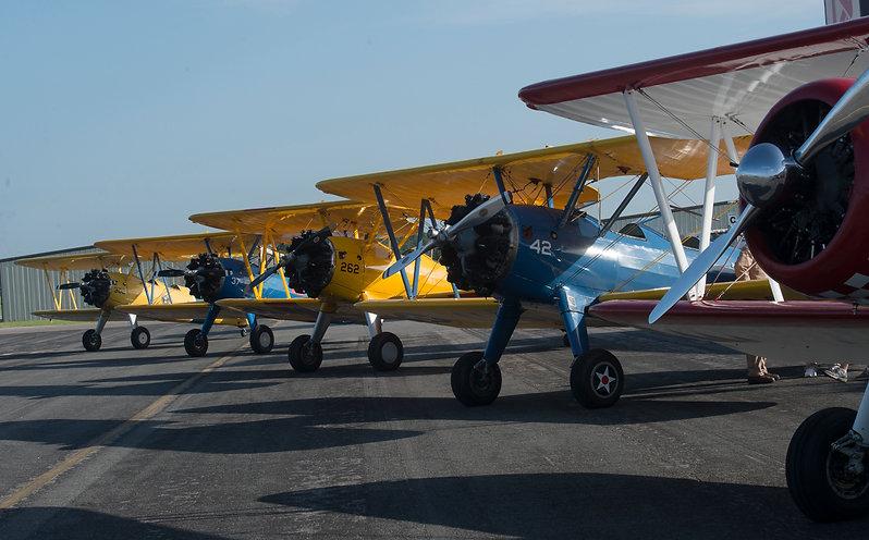 8 Stearmans - flight line.JPG