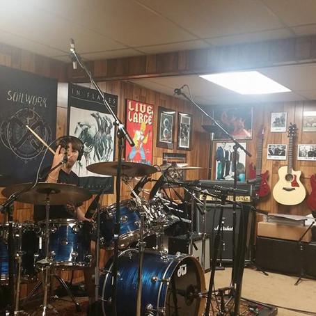 M.C.A.M. In The Studio