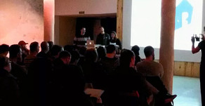 Lleno total en la reunión informativa  de VïA