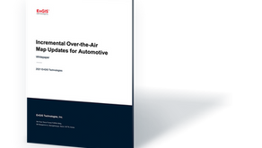 White Paper: Incremental Over-the-Air Map Updates for Automotive