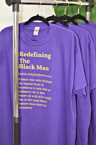 RTBM Definition Tee Purple (Gold)