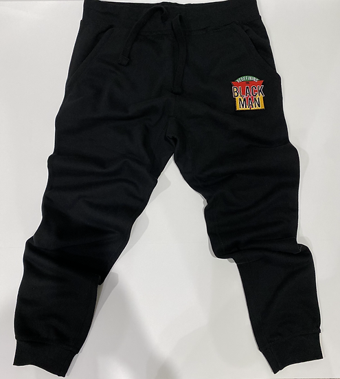 "RTBM Black Joggers ""Juneteenth Collection"""