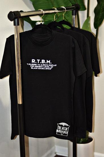 Pledge Marriage Patch T-Shirt (Black)