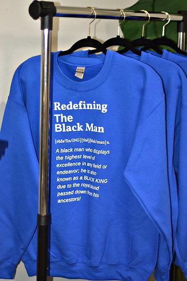 RTBM Definition Crewneck Royal Blue