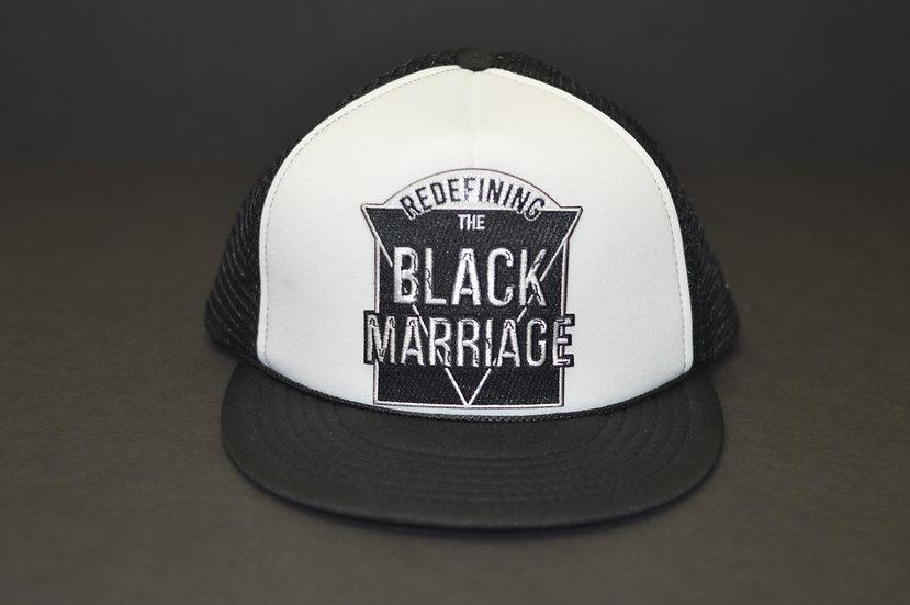 RTBM Trucker Hat (Black & White)