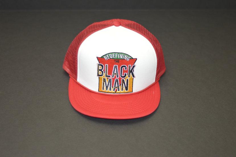 RTBM Trucker Hat (Red & White)