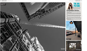 Article from the Cambridge Evening News announcing photo competition winner run by Cheffins