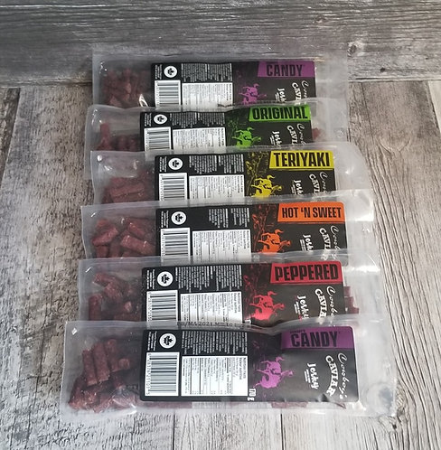 Cowboy's Caviar Jerky 6 packages 170g