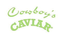 Cowboy's Caviar Beef Jerky logo lime gre