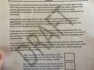 Southwark cancel ballot and remove low rise homes from scope of redevelopment
