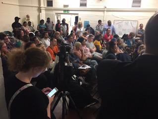 Southwark Council bossesmeetwith Ledbury Estate residents