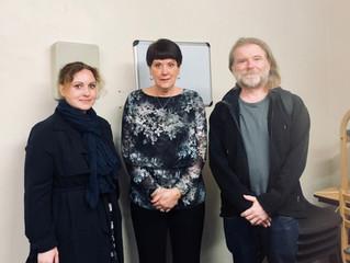 Dame Judith Hackitt visits Ledbury Estate