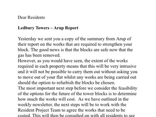 ARUP engineers report on Ledbury published