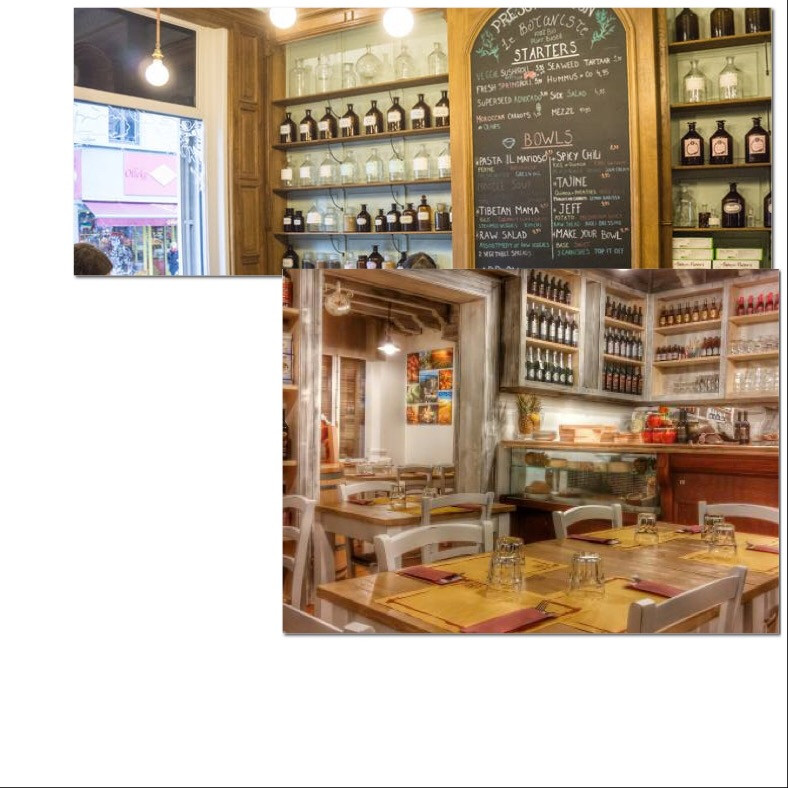 Osteria delicati and a deli shop Ghent