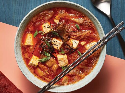Tofu Kimchi by MAMA HALLA