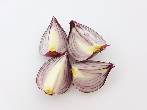 Red Onions -  pack of 4 (400g approx)
