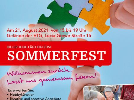 Sommerfest auf der Hillerheide!