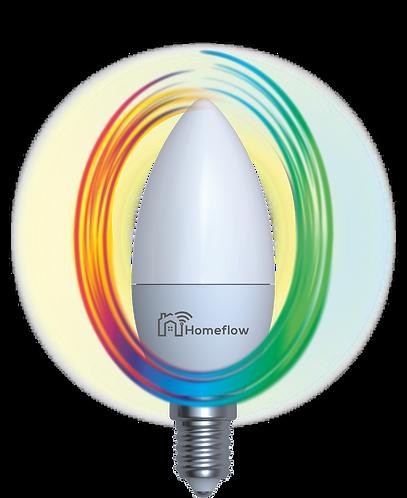 Dimmable RGB E14 Smart Bulb