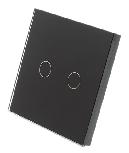 2 Gang Tempered Glass Smart Switch