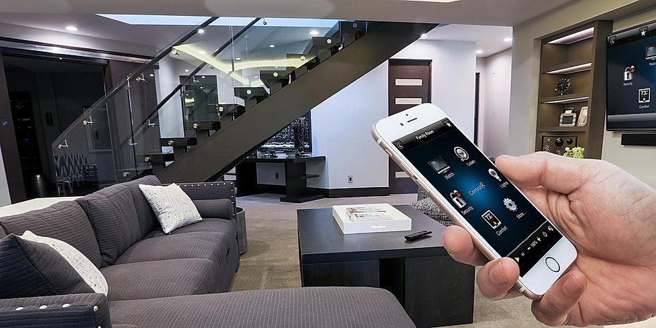 Control4 Smart Home Automation Virginia Water