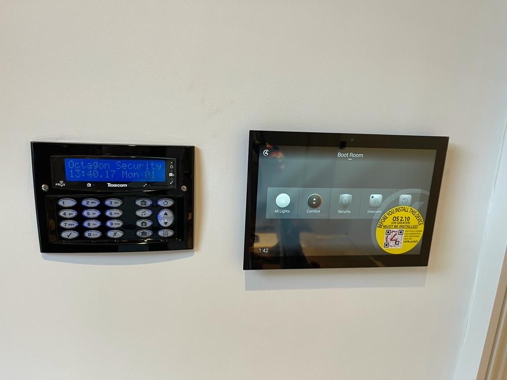 Texecom Intruder Alarm with Control4 Smart Home Integration