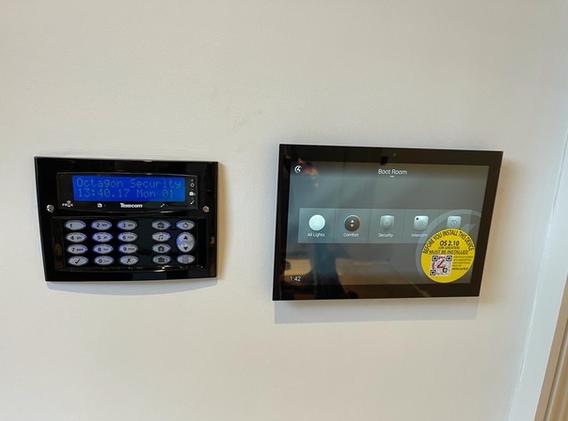 Texecom Intruder Alarm with Control4 Smart Home Integration