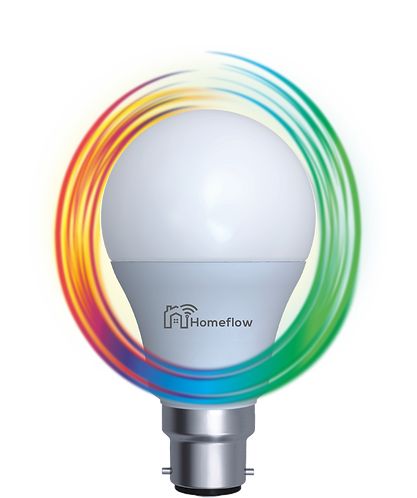 Dimmable RGB B22 Smart Bulb