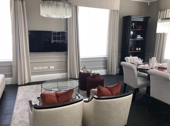 Lounge TV Installation