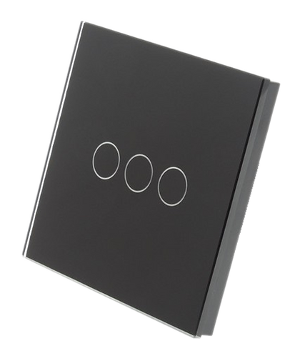 3 Gang Tempered Glass Smart Switch