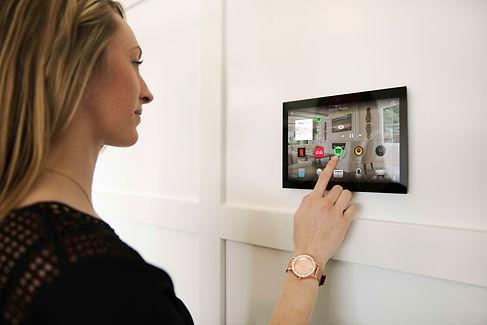 Control4 Smart Home Touchscreen