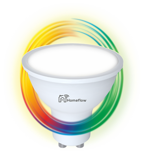 Dimmable RGB GU10 Smart Bulb
