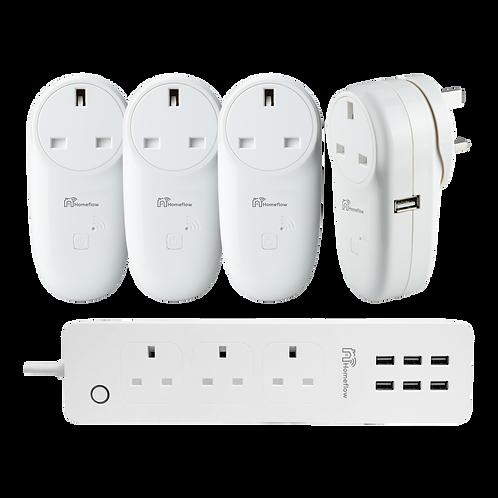 Smart Power Bundle (7 x AC, 10 x USB)