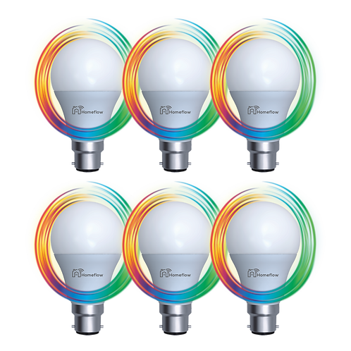 Dimmable RGB Smart Bulb Bundle (4 Options)